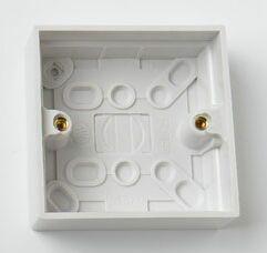 1 Gang 25MM Surface Pattress Box