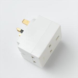 13 Amp 3 Way Adaptor