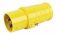 Outdoor Plug Yellow 110V