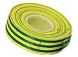 20 Mtr Insulating Tape Earth Green & Yellow Striped
