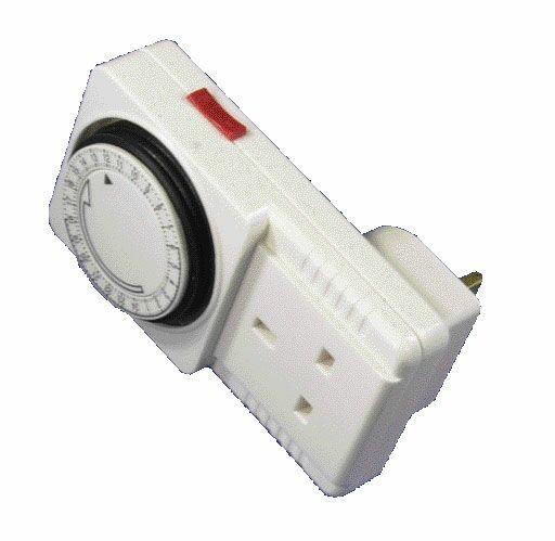 Powermaster 24Hr Plug In Timer