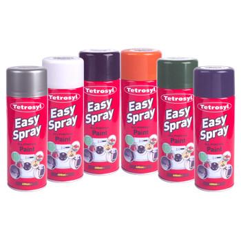 Aerosol Spray Paint Black Matt 400ml
