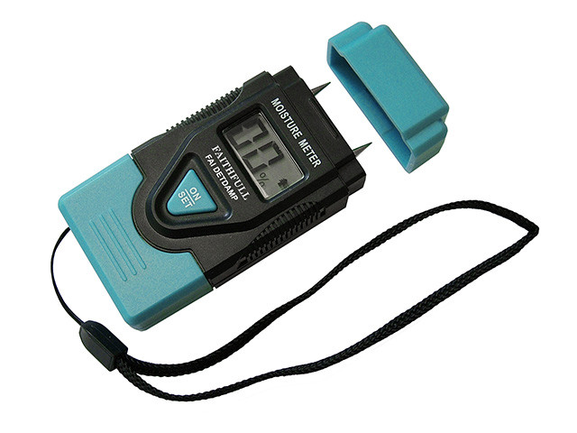 Faithfull/ Damp & Moisture Meter LCD Display
