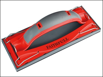 Faithfull Drywall Quick Grip Hand Sander 223x85mm