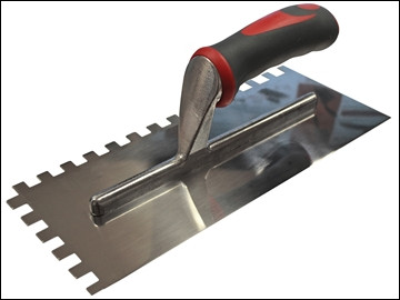 Notched Trowel 330x115mm