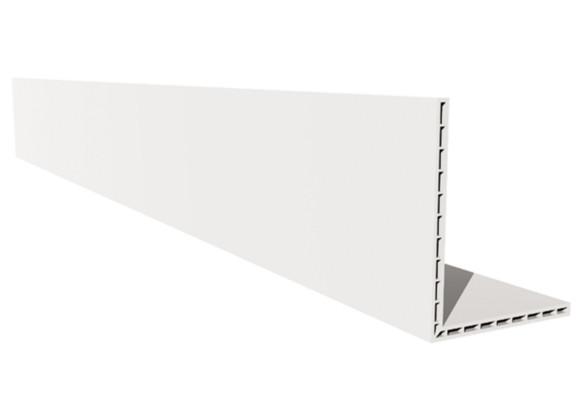 PVC Trim Hollow Angle 100mm 2.5m  HA-100