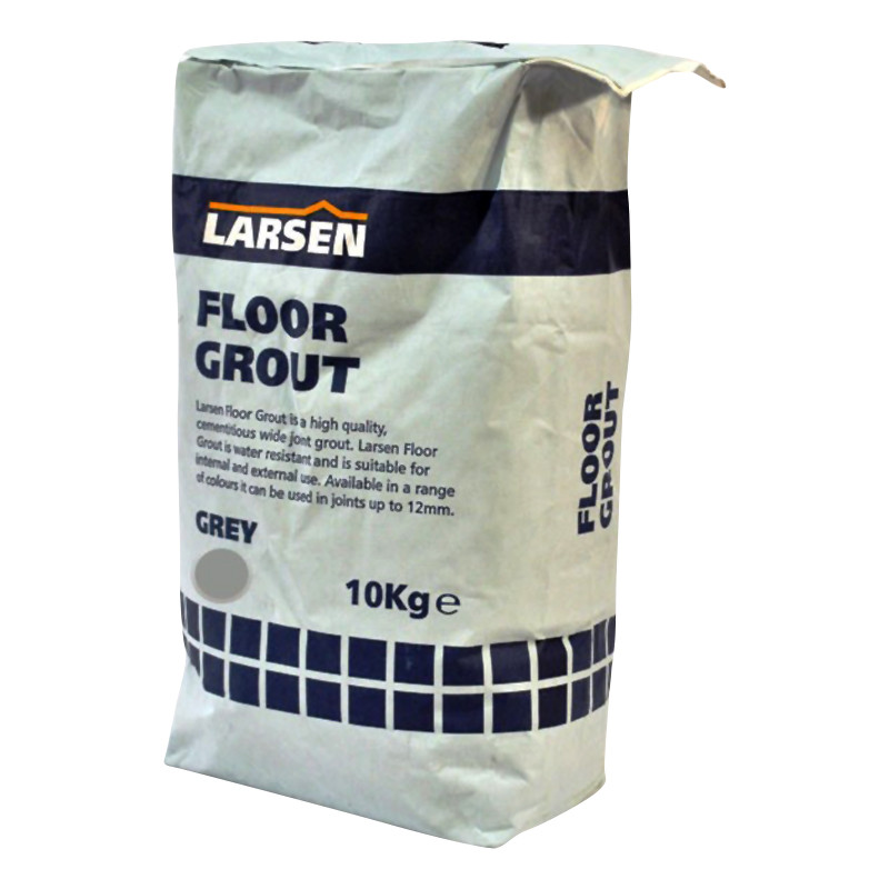 Floor Tile Grout 10kg Grey