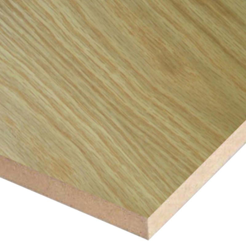 2440 x 1220 x 6mm Oak Veneered MDF