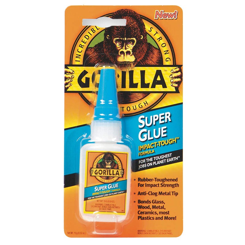 Gorilla Superglue Bottle 15g