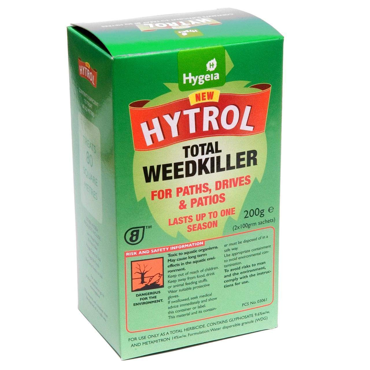 New Hytrol Total Weedkiller 400g (Paths, Drives & Patios)