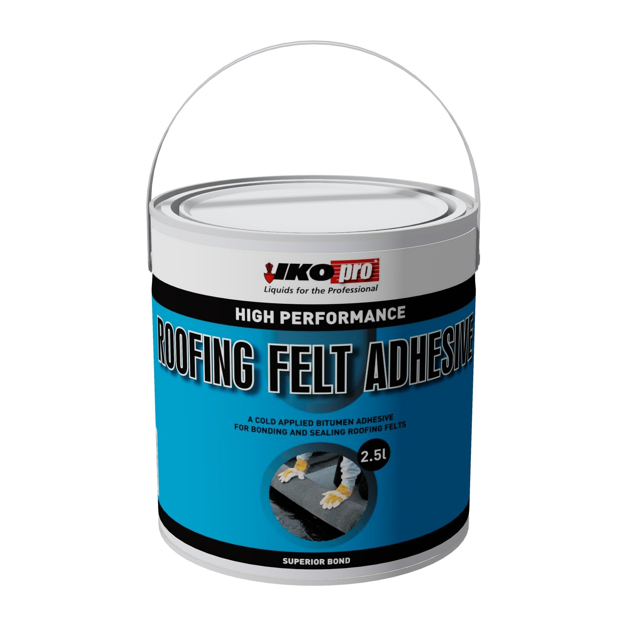 Iko-Pro Roofing Felt Adhesive 2.5Ltr
