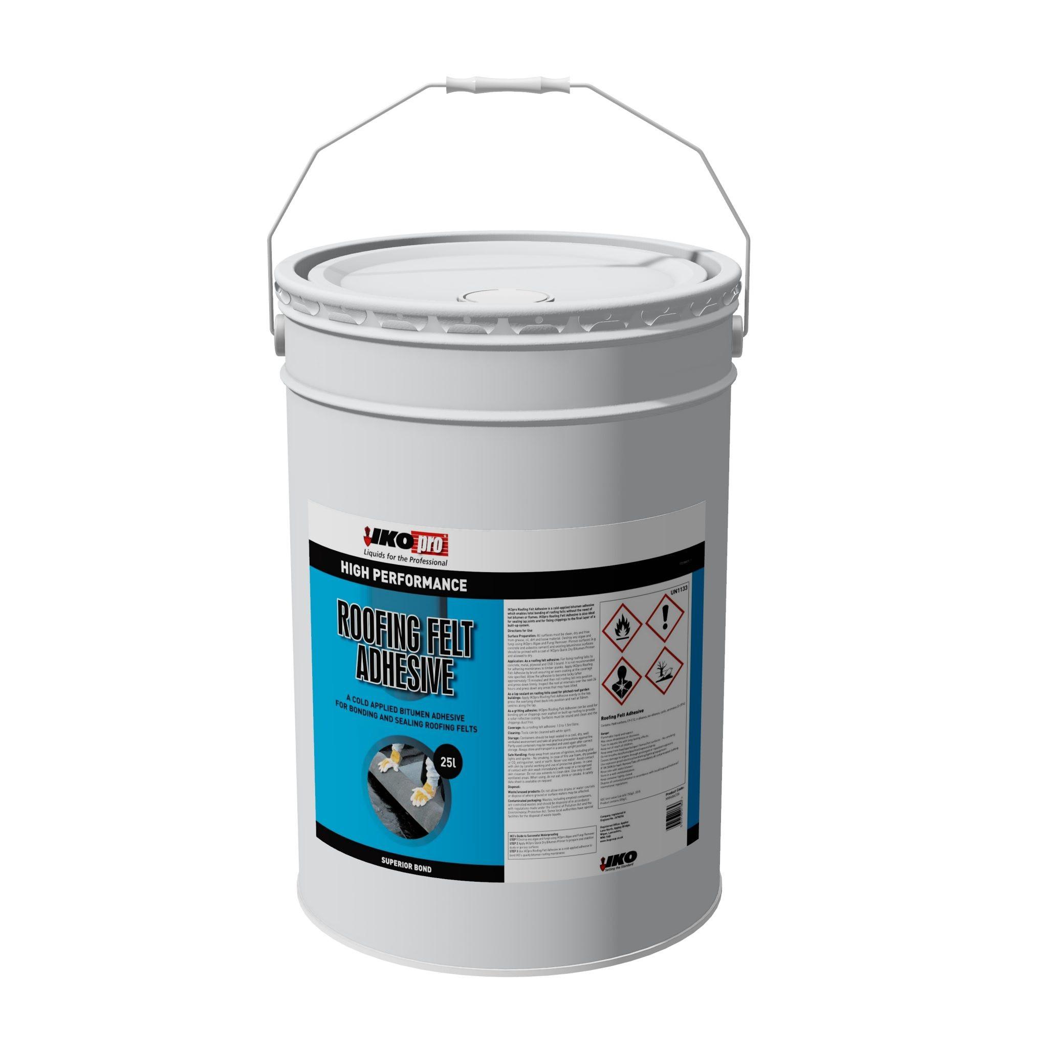 Iko-Pro Roofing Felt Adhesive 25Ltr