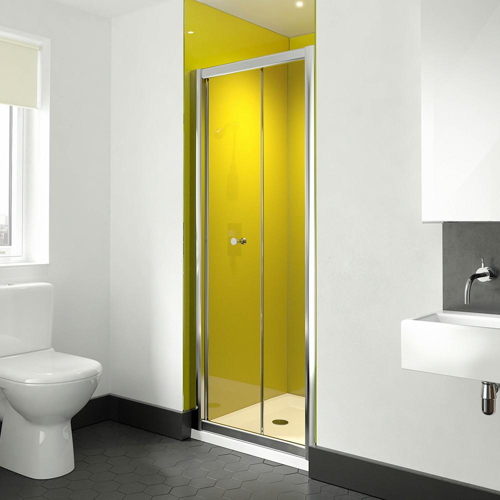 Image Solo Bifold 900mm Shower Door