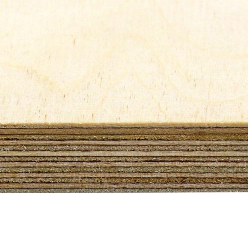 2440 x 1220 x 6mm Russian Birch Plywood BB/BB  BS EN 636-2 / 314-2