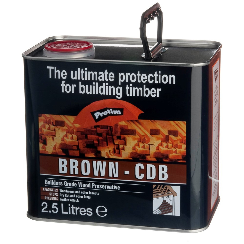 Construction Timber Preserver Tinted Brown   2.5L