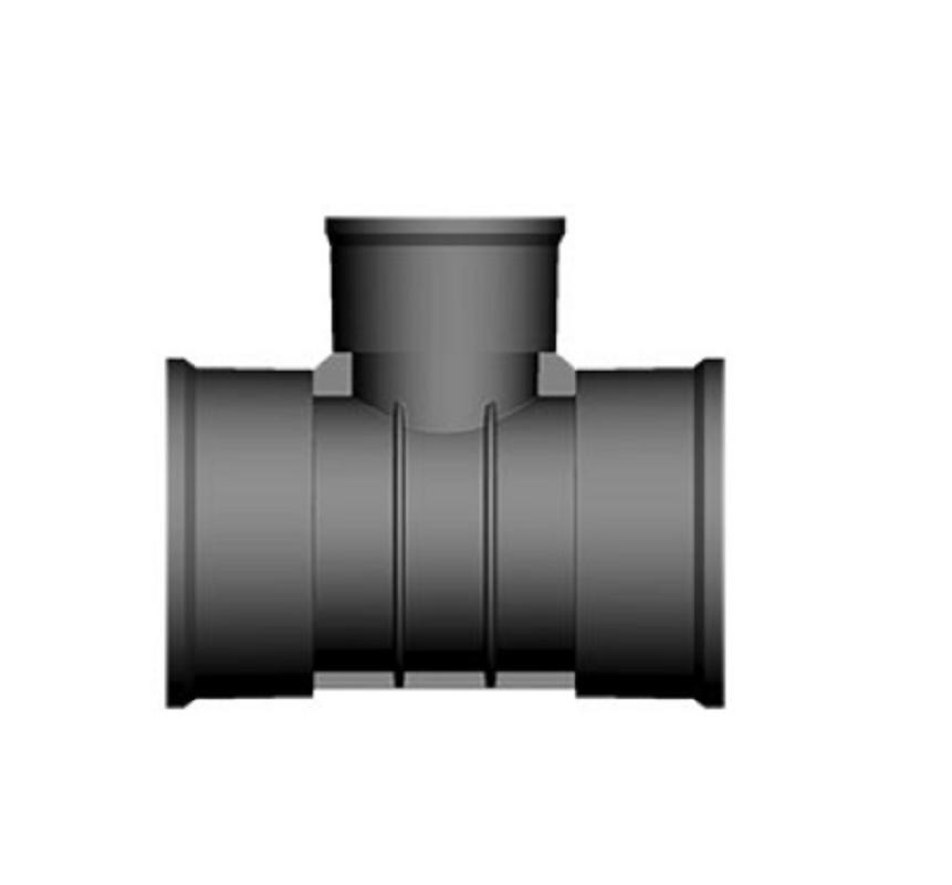 Twinwall Tee 90D 300-150mm