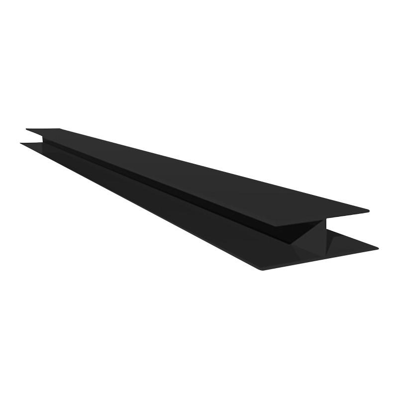 Joint H Trim 5m Black