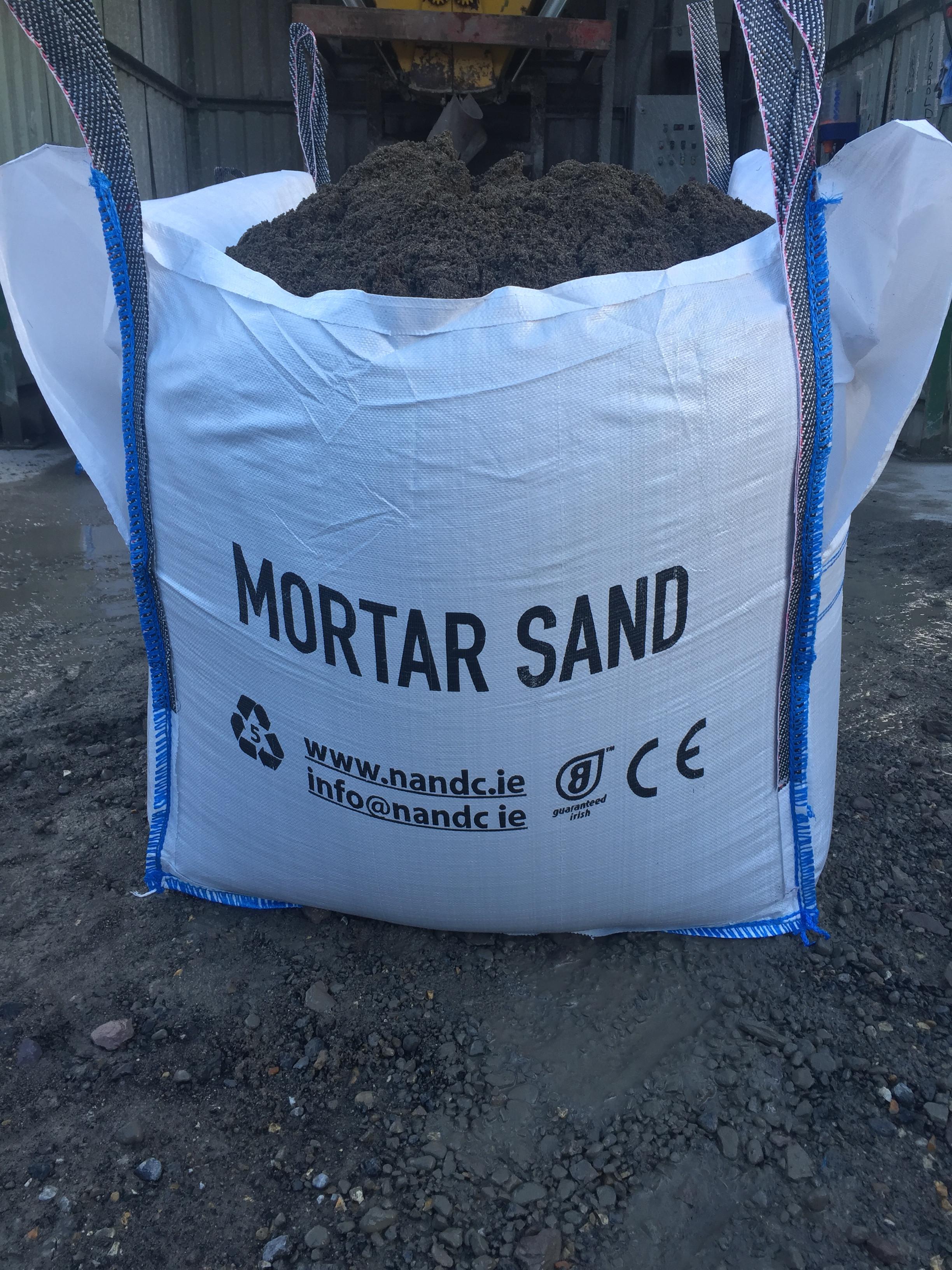 Mortar Sand 1Tonne Bag