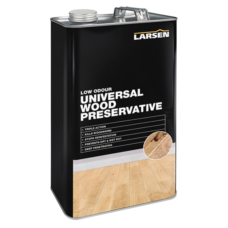 Larsen Universal Wood Preservative Triple Action   Clear  5L