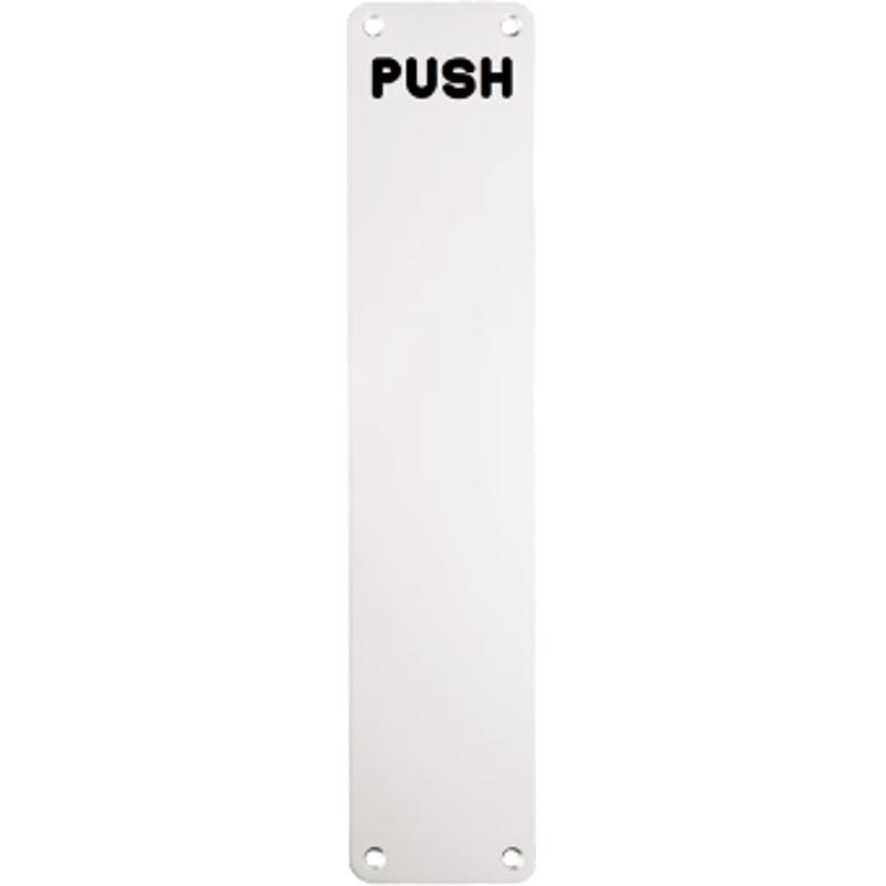 Finger Plate 300x75mm (Push)