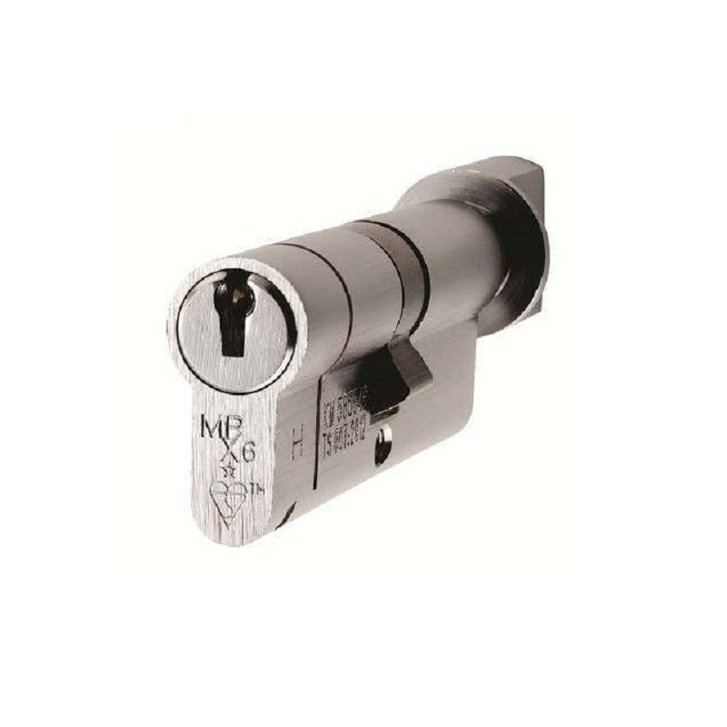 MPX6 Euro Cylinder & Turn 100mm (Security) SC/BP