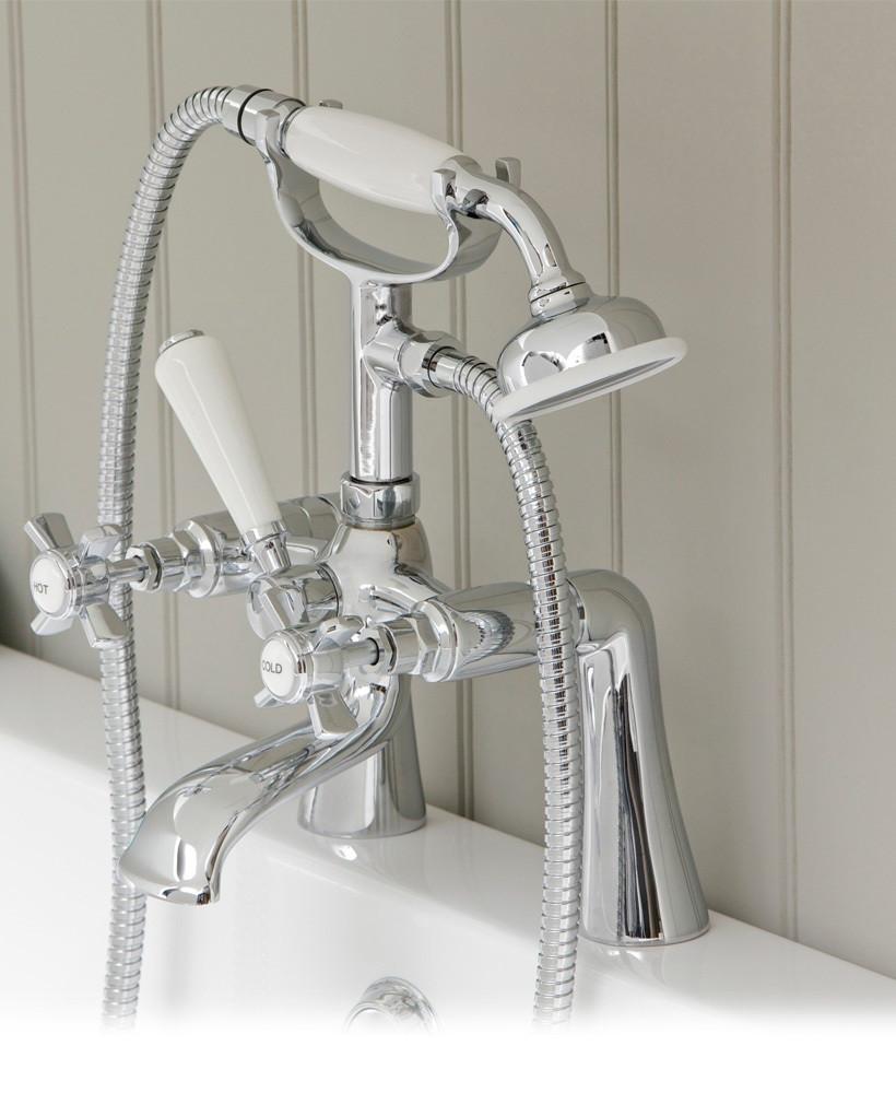 Edwardian Bath Shower Mixer