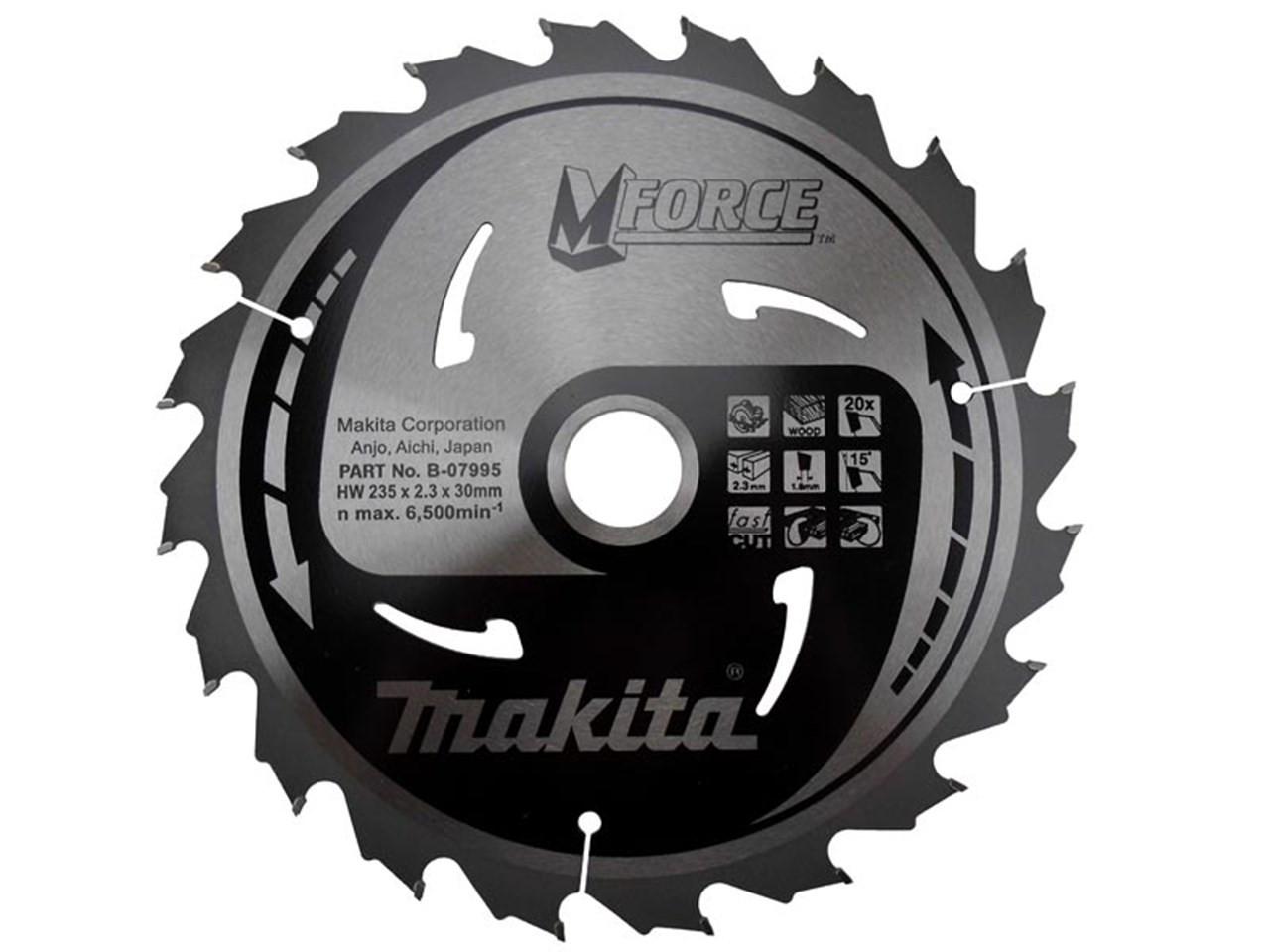 Makita MSM26070GL 260x70Lx30B 2.3K TCT Saw Blade
