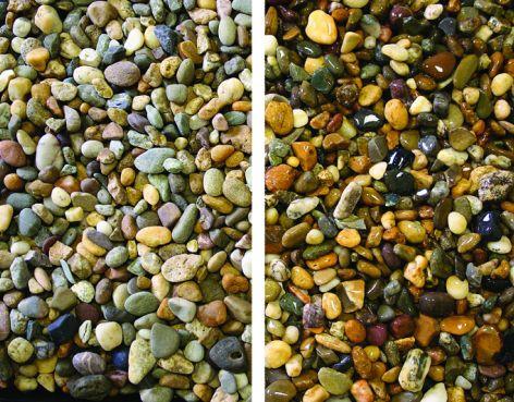 Decorative Stone Tonne Bag -  Beach Pebble