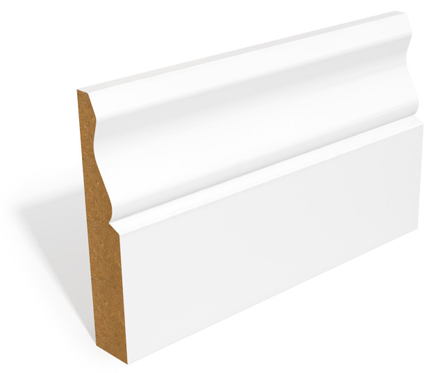 94mm x 18mm MDF Primed Ogee Skirting (5.49m)