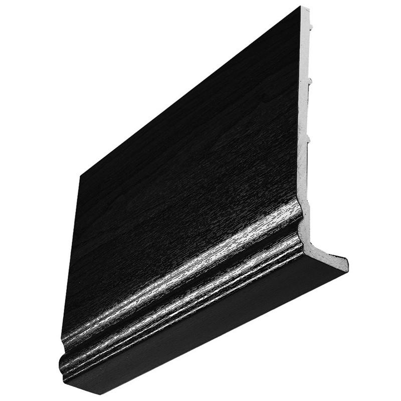 Ogee Fascia 225x10mm 5m Black