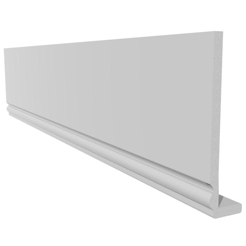 Ogee Fascia 225x10mm 5m White