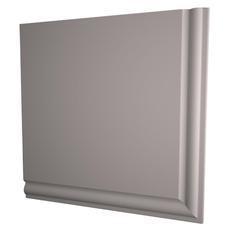 Ogee Gable End Box 600x690mm White (pair)