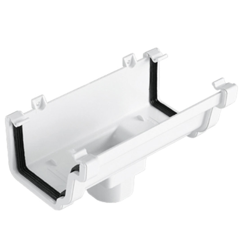 Ogee Running Outlet White