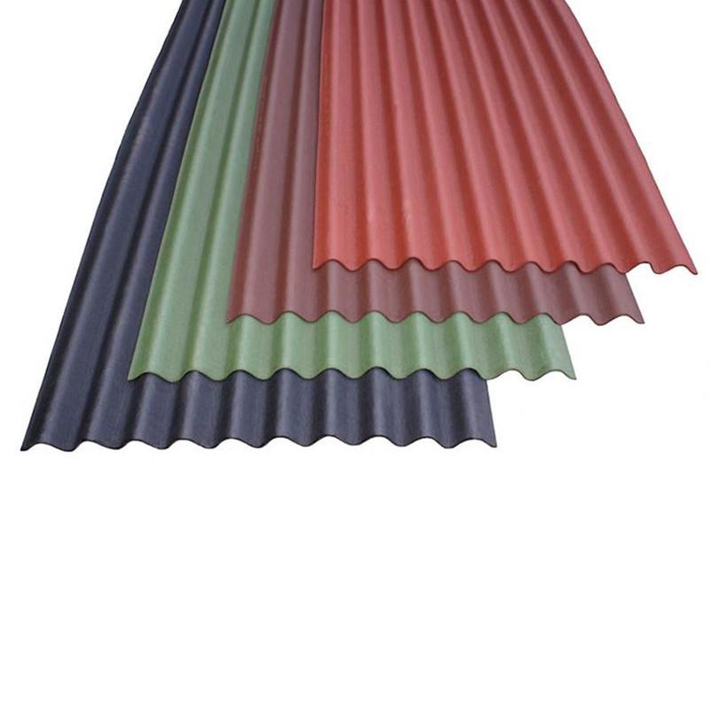Onduline Standard Black Sheet 2.0Mtr Long x 0.95Mt (1.9m x 0.855m Cover)
