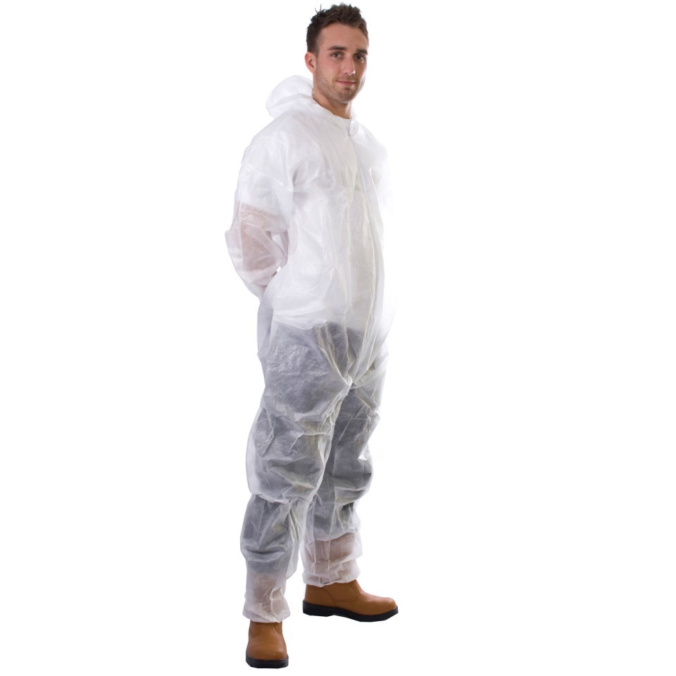 Disposable Boilersuit L White