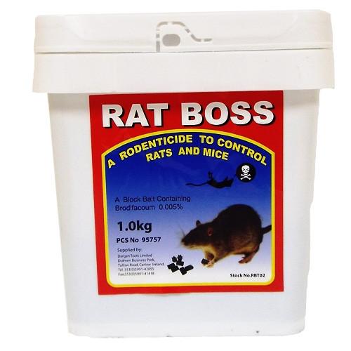 Rat + Mouse Block Bait 2.5kg