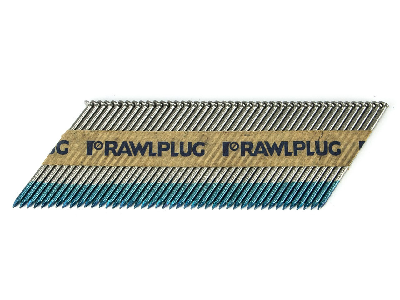 2.8 x 63 Rawlplug Bright Ring Nails (Box 3300 & 3 Fuel Cells)