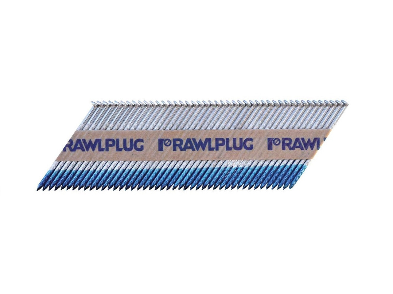 3.1x75mm Rawlplug Smooth Ring Bright Nails (Box 2200 & 2 Fuel Cells) CE