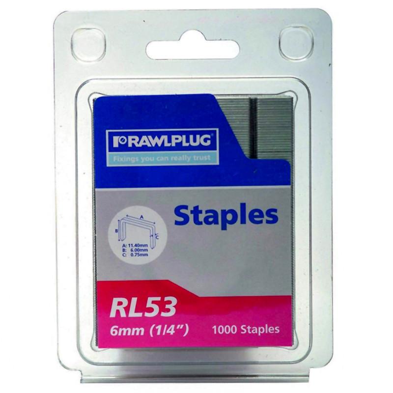 RL53-6mm Staples