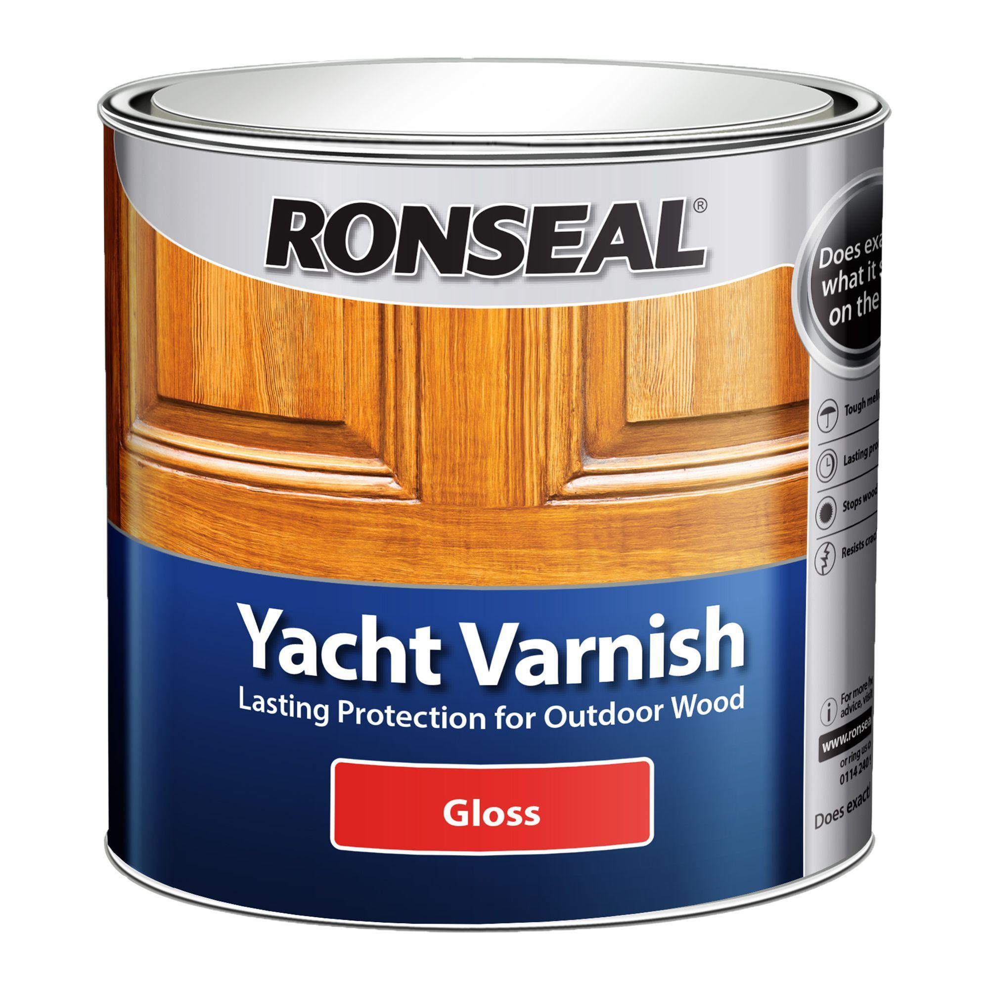 Ronseal Yacht Varnish Gloss 2.5L