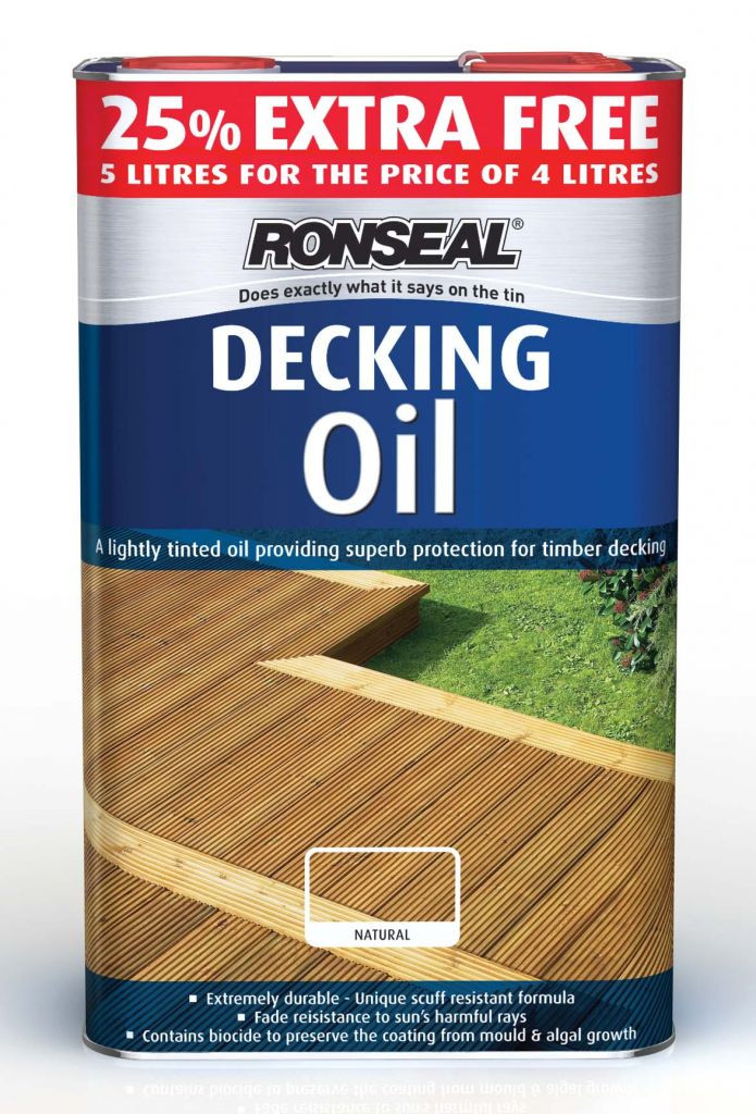 Ronseal Ultimate Deck Oil Darkl Oak 5L