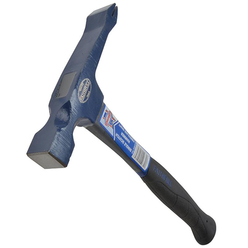 Faithfull Fibreglass Single Scutch Hammer