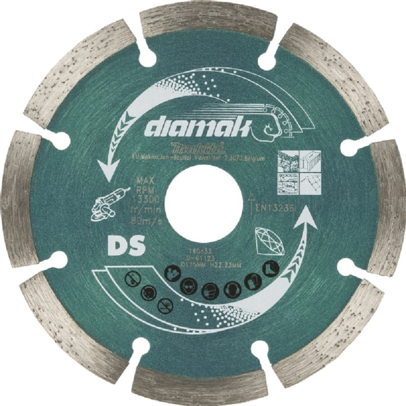Makita DDS115 115mm Diamak Diamond Blade