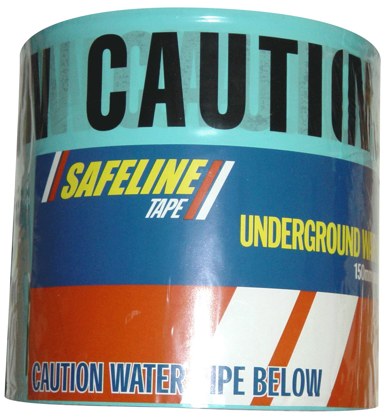 Caution Water Pipe Below Warning Tape x 150m