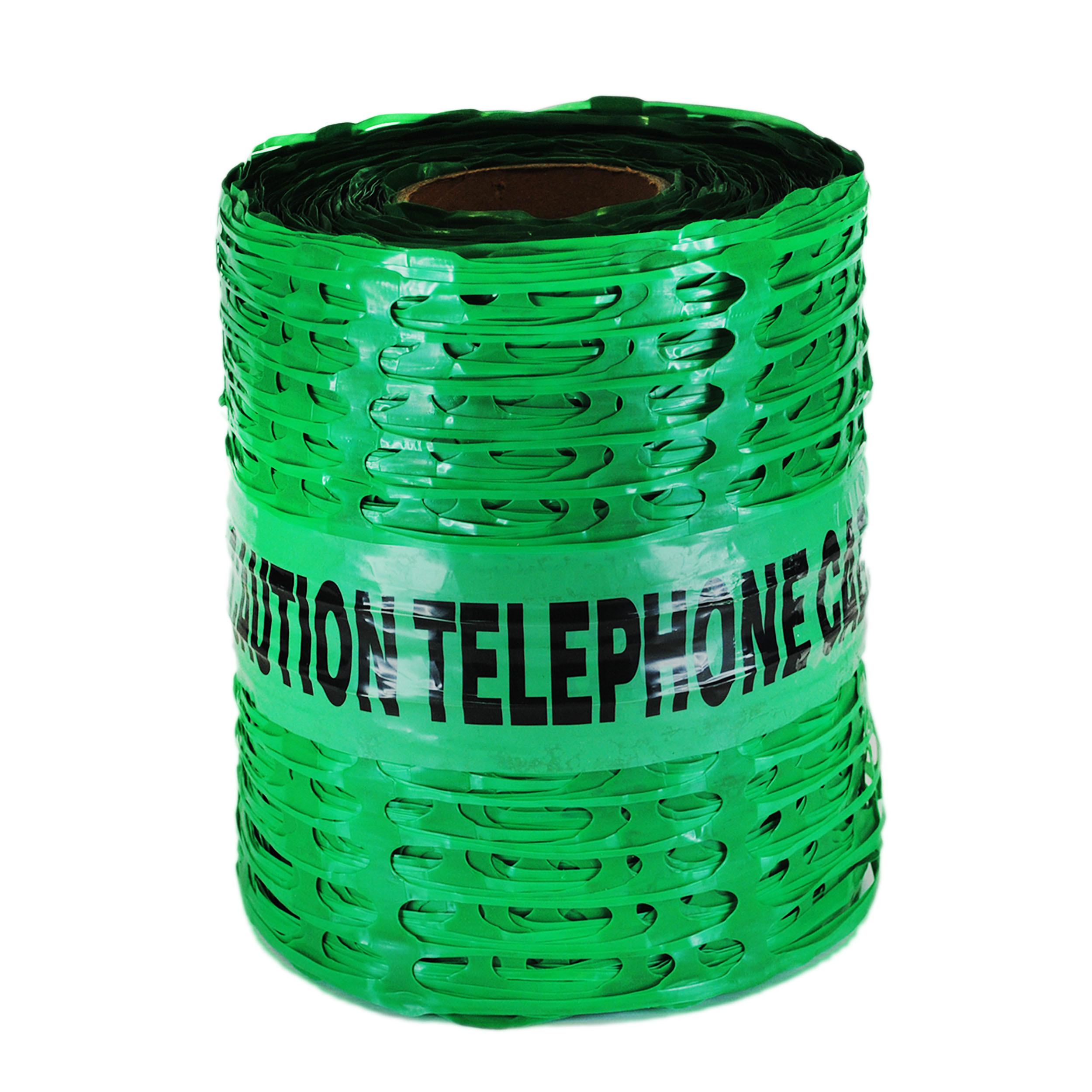 Caution Telephone Cable Detectamesh Tape 200mx100m
