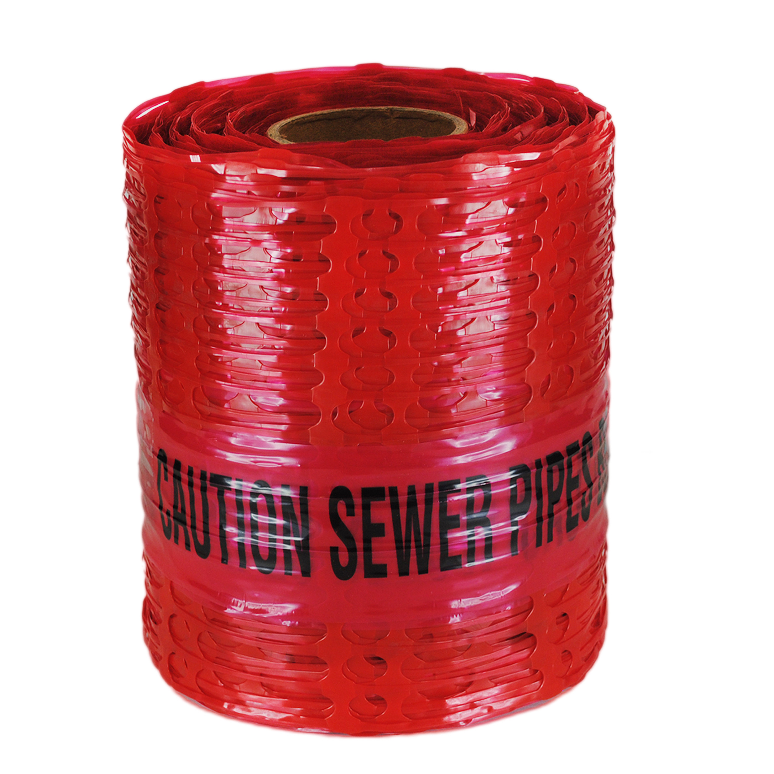 Caution Sewer Pipe Below Detectamesh Warning Tape.
