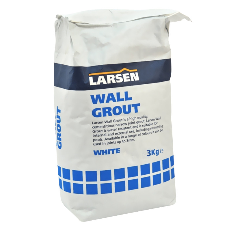 Wall Tile Grout 3kg White