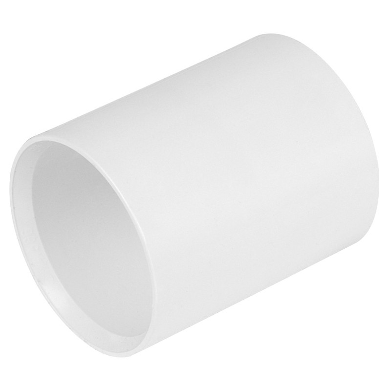 Waste  Straight Connector 40mm White