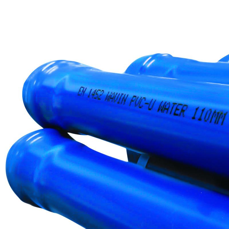 160mm PVC Watermain bend 11.25 deg Socketed