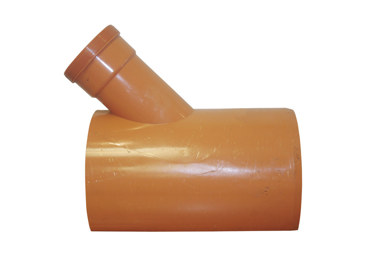 Sewer Saddle 45 degreeree 225x160mm